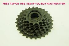 6 SPEED FREEWHEEL BLOCK 14/28 SCREW ON INDEX CASSETTE MTB ADULT OR CHILDS BIKE