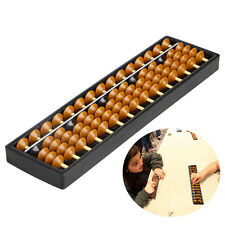 15 Digits Plastic Abacus Arithmetic Tool Kid's Math Learn Aid Caculating Toys