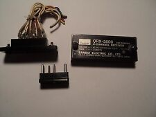 SANSUI QRX-3500 4 Channel Receiver Power Selector with Plug and Cover