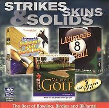 Strikes Skins & Solids Cold Coolection (Jewel Case) (6-Pack) - PC, Very Good Win