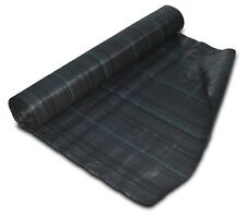 1m x 100m 100gsm Geotextile Weed Control Ground Cover Fabric Roll FREE PEGS