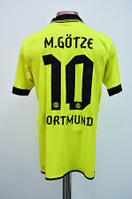 BORUSSIA DORTMUND GERMANY 2012/2013 HOME FOOTBALL SHIRT JERSEY PUMA GOTZE #10