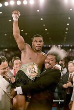 MIKE TYSON DON KING 8X10 GLOSSY PHOTO PICTURE