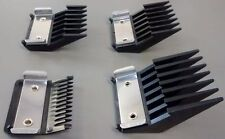 WAHL Metal Clipper Guard Attachment Combs - Sizes 1-4 (1 of each size)