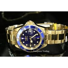 Invicta 8930OB Pro Diver Automatic Blue Dial 18K Gold-Plated Coin SS Men's Watch