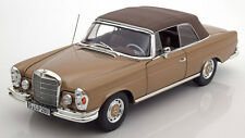 Norev 1968 Mercedes Benz 280 SE W111 Light Brown Met Dealer Ed 1/18 New Release!