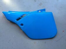 1987-90 Team Peak Honda ? CR125 CR250 CR500 Light Blue UFO Left Side Panel Rare