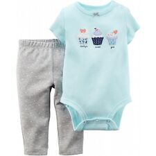 NWT 2pc Carter's Cupcake Bodysuit & Leggings Daddy's Sweet Girl 6 mo MSRP $20