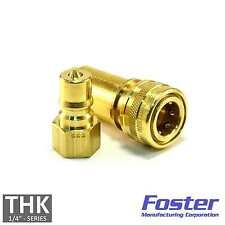 """Carpet Cleaning - 1/4"""" Brass Quick Disconnect QD Hose Wand Truckmount extractor"""