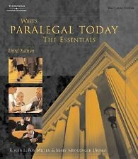 West's Paralegal Today: The Essentials (West Legal Studies Series)-ExLibrary