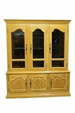 "CENTURY FURNITURE Chantaine Collection Country French 72"" Lighted China Cabinet"