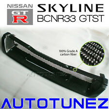 Carbon Fiber Front Grill Grille Car For Nissan Skyline R33 GTST GTS BCNR33 AT
