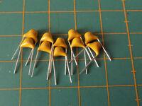 Monolithic Multilayer Ceramic Capacitors - 10 Pack - Choose PF,NF,UF - Free P&P