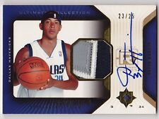 2004-05 Ultimate Collection DEVIN HARRIS Auto Patch RC Rookie Card #d 23/25