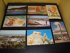 Quantity 79 Vintage Postcards Most In Color and from 1960's Good - Excellent