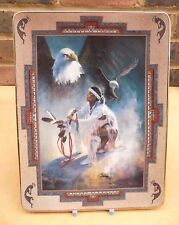 FRANKLIN MINT Western Heritage Museum Plate - Message to the Great Spirit