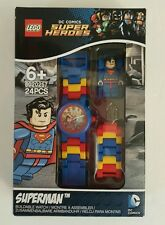 New LEGO® Superman DC Comics Buildable Watch Super Heroes MiniFig NIP