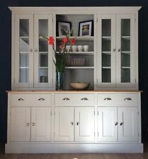 New Solid Pine 6ft Welsh Dresser Kitchen Unit Cabinet Painted Shabby Chic