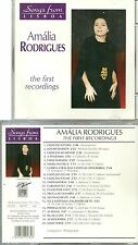 RARE / CD - AMALIA RODRIGUES : THE FIRST RECORDINGS / PORTUGAL LISBOA FADO