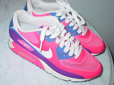2013 Nike Air Max 90 Pink Flash/Hyper Blue Running Shoes! Size 7 $149.95