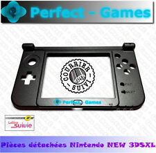 NINTENDO NEW 3DS XL Coque bas screen bottom middle housing shell noir black