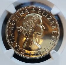 1970 UK Great Britain Halfcrown KM# 907 Proof Coin NGC PF68 Last 1/2 Crown