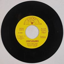 JERRY LEE LEWIS: Save the Last Dance for Me SUN USA Rock & Roll Country 45 NM-