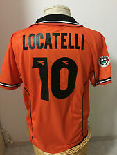 Maglia calcio Udinese match worn 1998 99 n 10 Locatelli shirt Jersey trikot