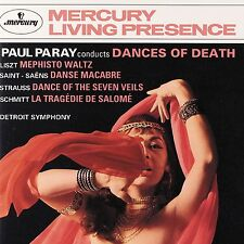 PARAY/DETROIT SO - DANCES OF DEATH  CD NEU LISZT,FRANZ/+