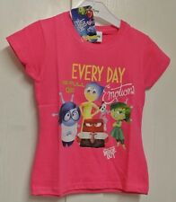 New Disney Inside outTop Pink 100% cotton 3-4 years
