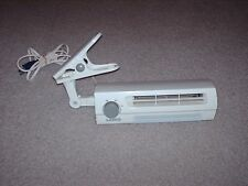 Lasko Desk Fan Model 4006 Clip Stik Ultra Slim 2-Speed