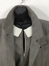 Fendi Jumpsuit & Overcoat Trench Bergdorf Goodman Made In Italy Sz 40/ 8 1980's