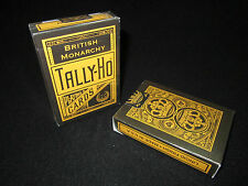 British Monarchy Tally-Ho Playing Cards - Limited, Rare