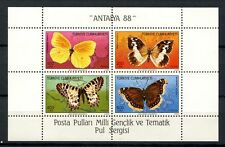 Turkey 1988 SG#MS3018 Butterflies MNH M/S #A35796