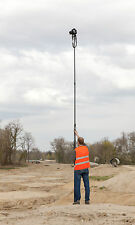 5-metre Telescopic Camera Pole Mast for Aerial Photography & Rotating Foot Plate