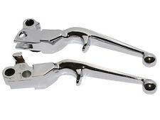 Handlebar Brake Clutch Lever For 96-13 Harley Dyna Softail Road King FLSTF XL