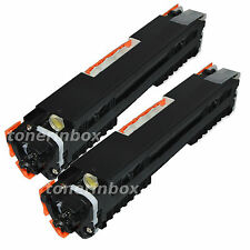 2pk CE310A 126A Black Toner Cartridge For HP LaserJet CP1025nw M275MFP M175a/nw