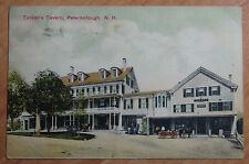 1908 POSTCARD OF TUCKERS TAVERN PETERBOROUGH NEW HAMSHIRE