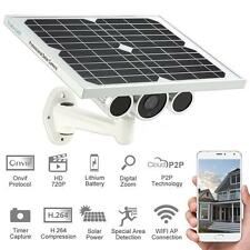 Wireless Solar Power & Batteries IP Security Camera Outdoor IR Night Vew In US!