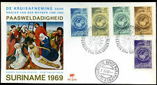 Suriname 1969 Easter Charity FDC First Day Cover #C29306