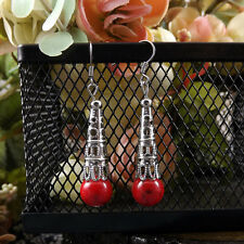 New Chic Fashion Women's Jewelry Silver beads Type Ear Stud Earrings Gift  E13