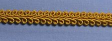 9mm Old Gold Gimp Braid