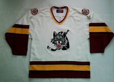VINTAGE SP MADE IN CANADA CHICAGO WOLVES HOCKEY JERSEY IN SIZE M