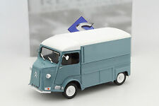 Citroen Type HY Box  truck 1969 grey blue / weiß 1:18 Solido