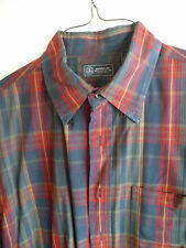Arrow Plaid Long-Sleeved Shirt Button Down  Blue Red Grn Fresh from Cleaners   M