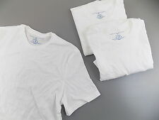 Tommy Hilfiger $50 MENS 3 WHITES CREW-NECK Undershirt TOP SIZE S T-SHIRTS B12