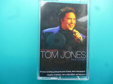 "TOM JONES  "" LOVE ME TONIGHT - LIVE IN CONCERT ""  CASSETTE"
