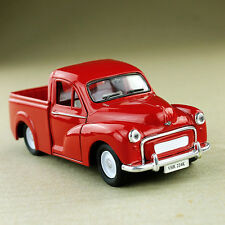 Red 1956 Morris Minor 1000 Pickup Ute 1:26 Scale Die-cast Model Car Free-wheeler