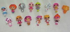 MGA Lalaloopsy Mini Doll Lot of 14 Little Sisters and Accessories