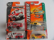 MATCHBOX FIRE BLAZE BLITZER  & OTHER EMERGENCY VEHICLES SET OF 4 # 48